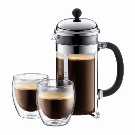 Coffee Plunger suggested way to use bodum coffee plunger to make the cup of coffee the suggested