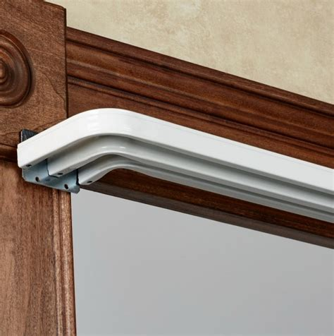 triple curtain rod bracket triple curtain rod uk home design ideas