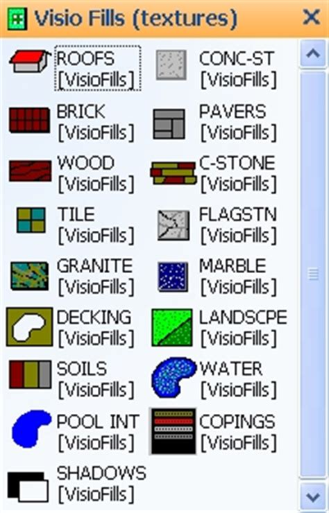 line pattern in visio visio fills free visio stencils shapes templates add ons