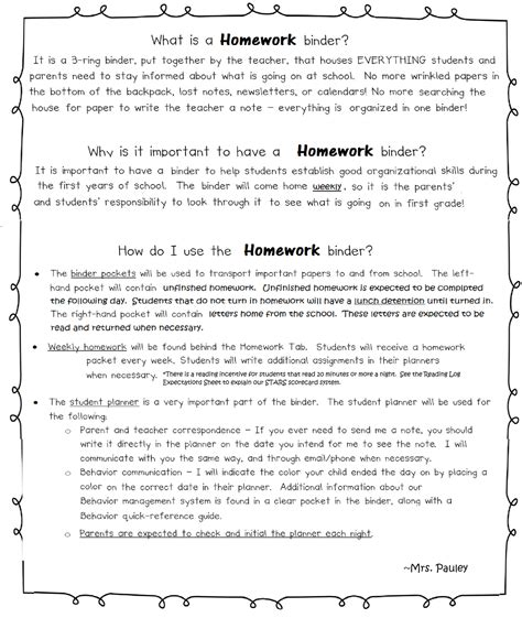 Parent Letter Explaining Guided Reading Pauley S Posts Homework