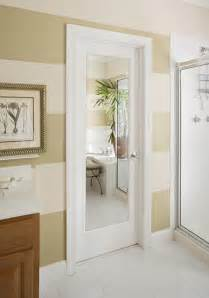 Interior Door With Mirror Mirror Impression Door Modern Bathroom Orange County By Homestory Of Orange County
