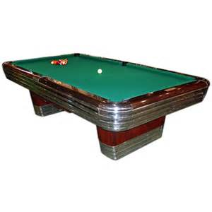 deco brunswick centennial pool table at 1stdibs
