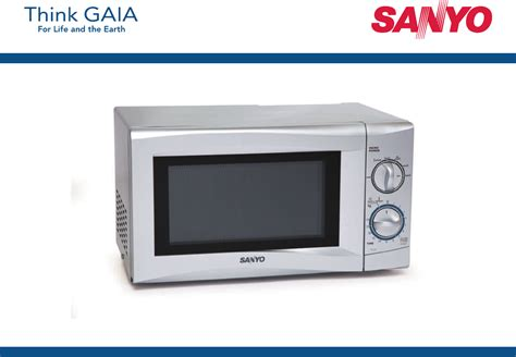 Microwave Oven Sanyo sanyo microwave oven em s105a user guide manualsonline