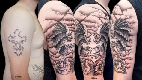 cross tattoos with clouds cross tattoos with clouds www pixshark images
