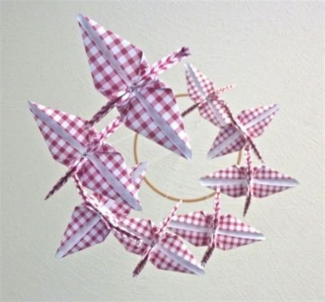 Origami Decor - 20 origami decor ideas for a room kidsomania