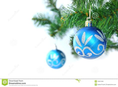 blue christmas ball stock image image of symbol