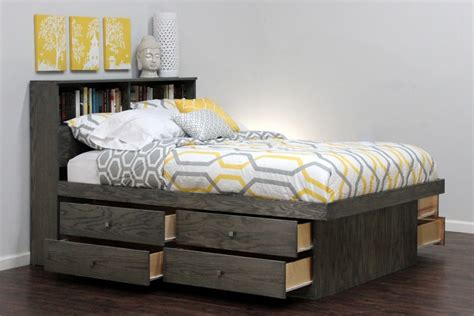 full size bed with drawers platform bed with storage drawers ideas all and full size
