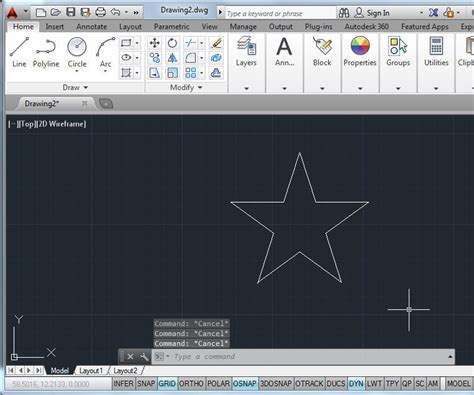 5 Drawing Commands In Autocad by 4 Essential Commands For Drawings In Autocad Use