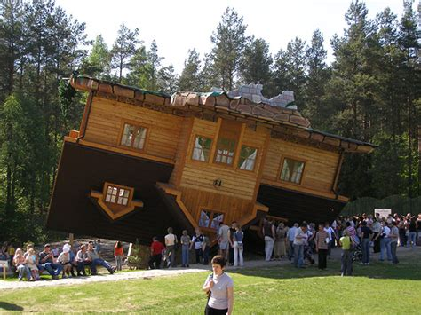 upside down house poland 25 unusual buildings
