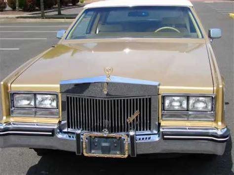 gold cadillac 1985 gold cadillac eldorado coupe less than 90k