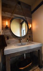bathroom vanity with top and mirror concrete bathroom sinks that make a strong statement