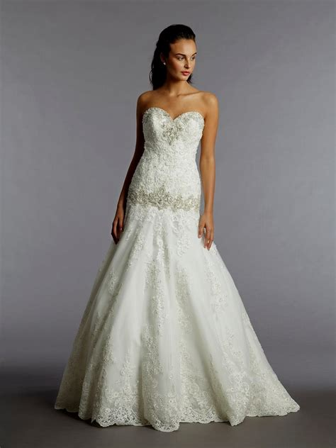 Alita Maxi 2 lace backless wedding dress kleinfeld naf dresses