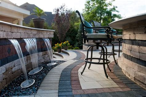 Unilock Georgetown Outdoor Living Space Archives Hofstetter Landscaping