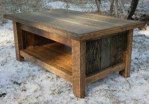 Rustic Furniture Coffee Table Rustic Reclaimed Coffee Table By Echopeakdesign On Etsy