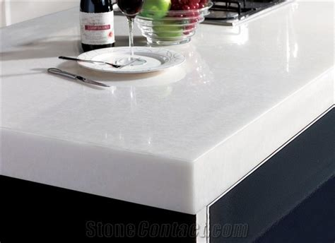 White Solid Surface Countertops by Kitchen Countertops A Concord Carpenter