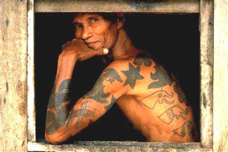 tattoo dayak iban yakuza tradition similar irezumi dayak iban tradition