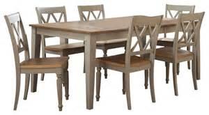 X Dining Room Set Liberty Furniture Al Fresco 7 74x40 Dining Room Set