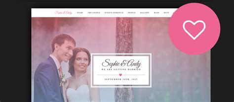 60  Best HTML Wedding Website Templates 2017