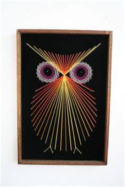 String Owl Template - butterfly string string string patterns and