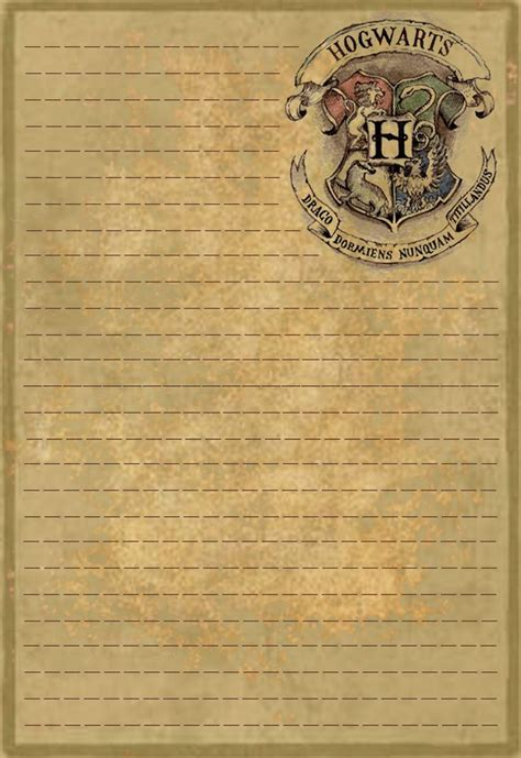25 best ideas about harry potter letter on