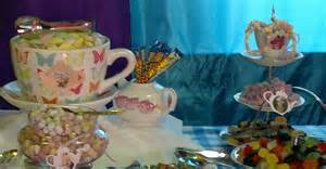 Sweets and candy buffet table oxford university alice in wonderland