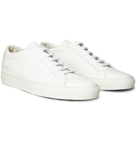 by common projects sneakers common projects original achilles leather low top sneakers