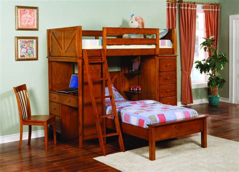 Bunk Beds With Built In Desk Save Big On Tahoe Loft Bunk Bed With Built