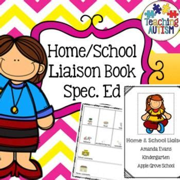 home school parent communication book special education