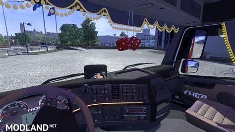 volvo fh13 500 interior v 1 13 3 mod for ets 2