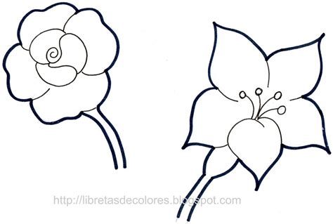 dibujos de flores para colorear top dibujos para colorear de rosas images for pinterest