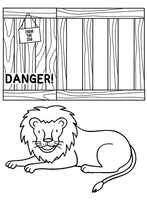 Dear Zoo Coloring Page | free coloring pages of dear zoo