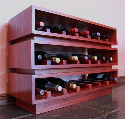red wine rack modular wine rack drue kerr industrial design