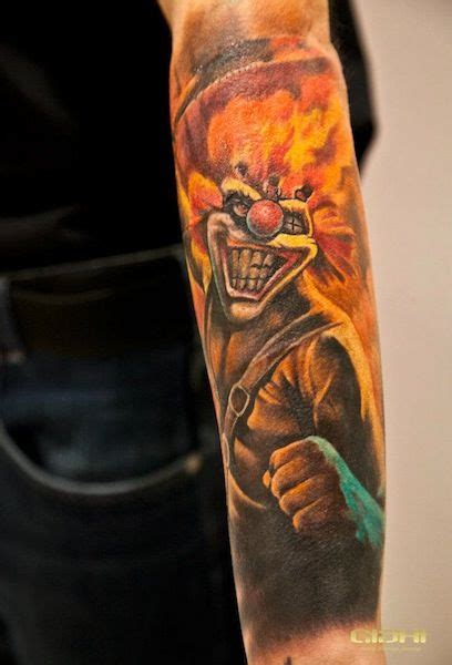 twisted metal tattoo 34 best inspiration for m images on