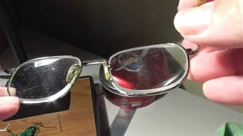 how to fix glass remove scratches from eye glasses what works youtube
