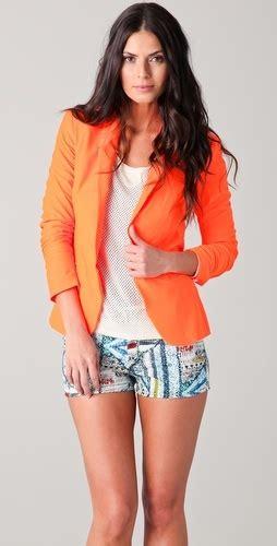 Blazer Orange orange blazer i d pin it