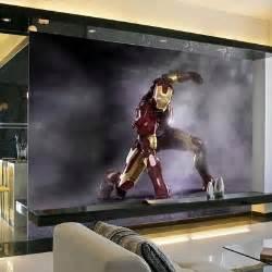 new 3d iron man mural wallpaper full wall murals print wall mural iron man marvel avengers xxl photo wallpaper