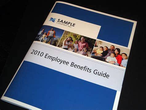 Benefits Brochure Template Employee Benefits Guide On Behance