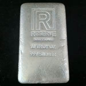 10 troy ounce silver bar price 10 troy oz ounce 999 silver poured cast