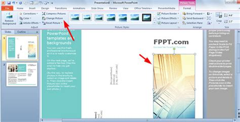 powerpoint brochure template simple brochure templates for powerpoint
