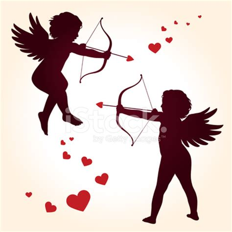 the cowboy s cupid s bow books cupid silhouette stock photos freeimages