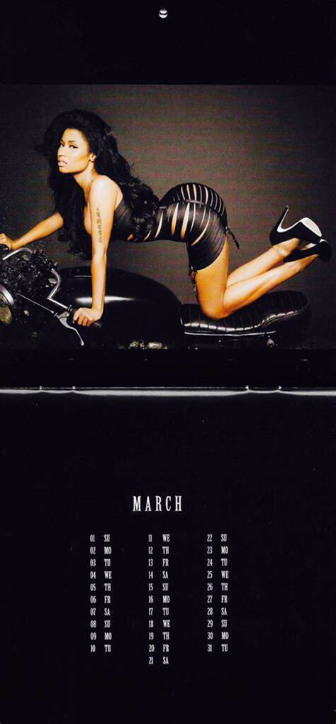 Nicki Minaj Calendar Missinfo Tv 187 Nicki Minaj S 2015 Calendar Is Here