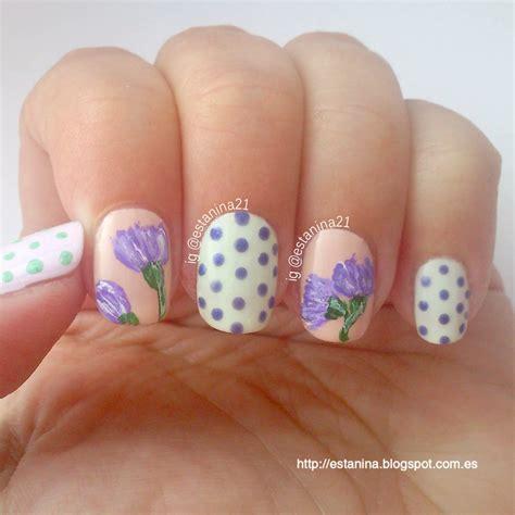 tutorial de uñas instagram u 241 as con flores estilo vintage 161 con v 237 deo tutorial