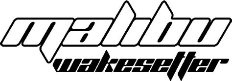 wake boat decals malibu wakesetter decal