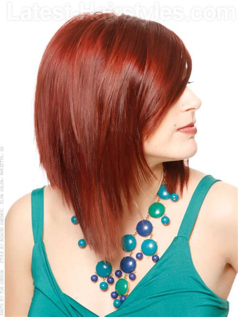 long red bob long red bob hairstyles images
