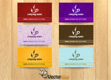 Http Www Freepik Free Vector Coffee Business Card Template 1105489 Htm by Coffee Cup Business Card Vector Free