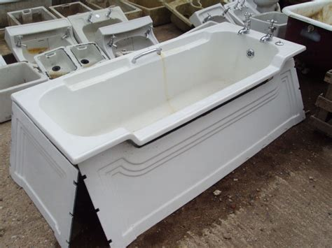 art deco bathtub reclaimed antique sanitary ware authentic reclamation