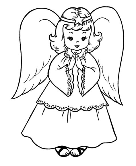 printable christmas tree angel christmas angels coloring pages coloring home