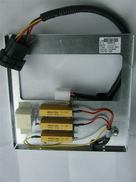 how does a heater resistor pack work s2 heater resistor pack modified