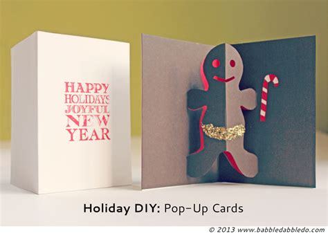 make a pop up card template diy pop up cards babble dabble do
