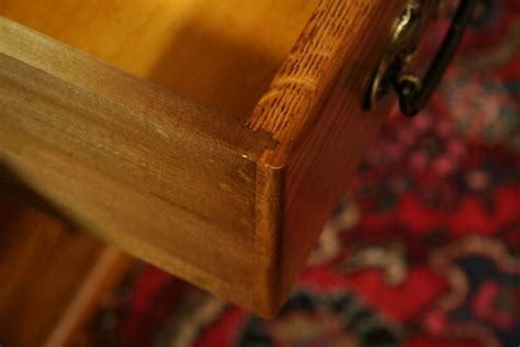 Types Of Drawer Joints by Dovetails A Clue For Dating Antiques The Harp Gallery